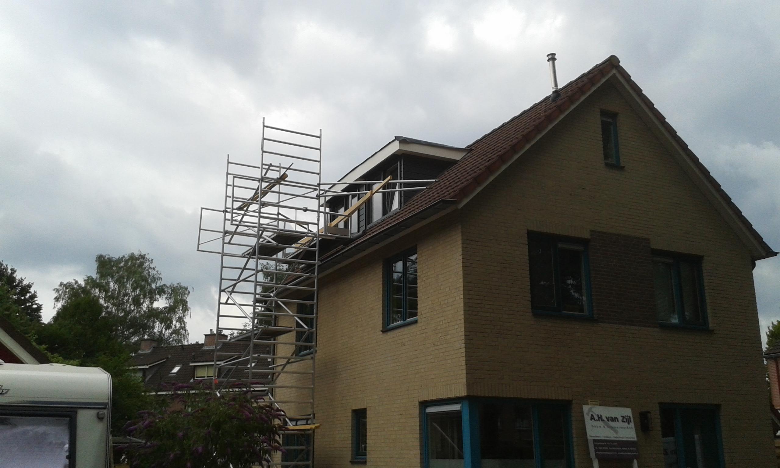 Plaatsen dakkapel en verbouw zolderverdieping in Aalten 2016